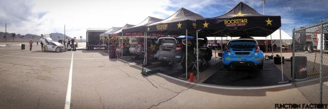 Rally America Paddock Race Prep