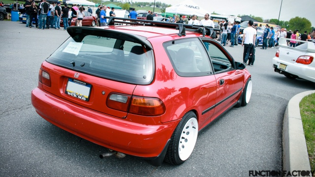 Red Civic Hatch