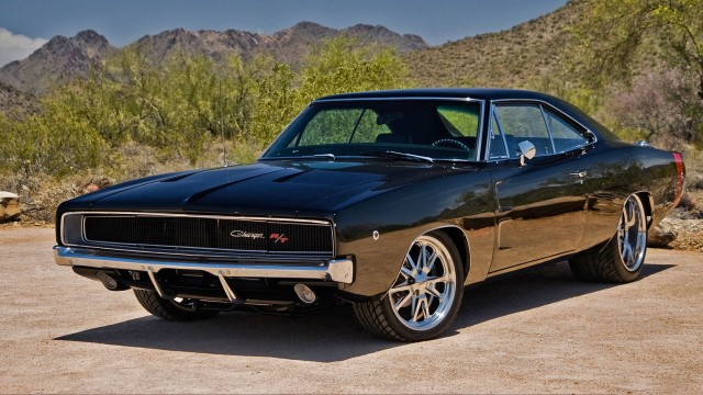 Dodge-Charger-1970-Black-Wallpaper-HD