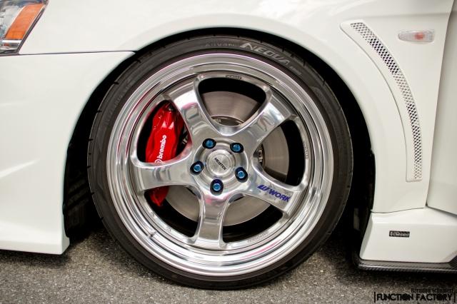 Work Rims on Evo | Wheel Wednesday