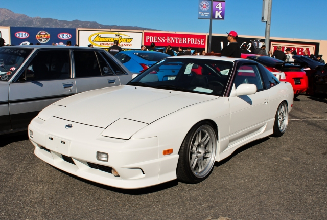 Clean S13 240sx with rare full kouki front end