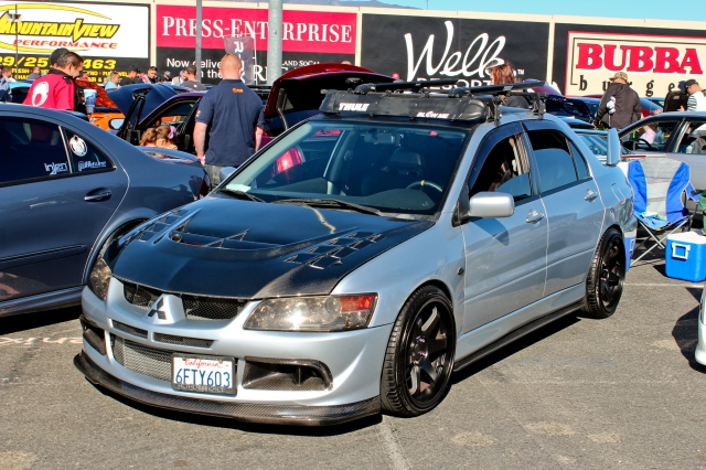 Evo IX at IFO 2014
