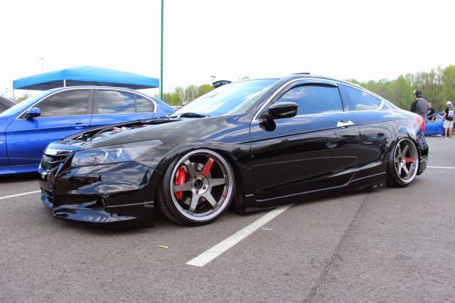 Bagged & Clean Honda Accord