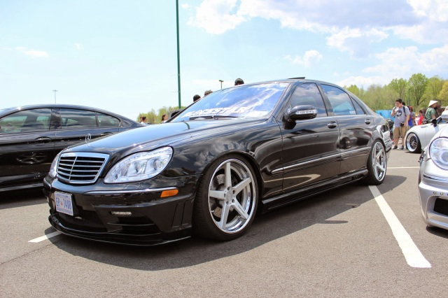 Fitted Mercedes S500 looks nice