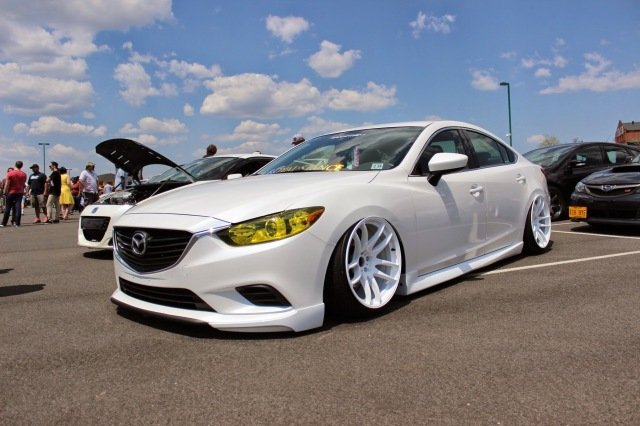Lowered And Stanced Mazda 6