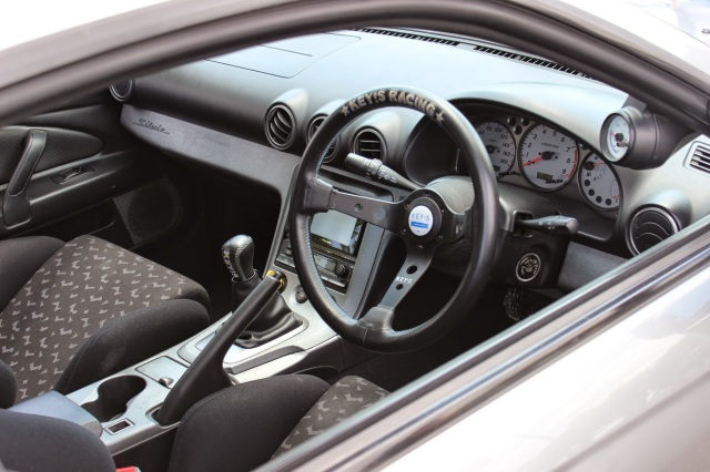 Interior shot of Nissan Silvia S15