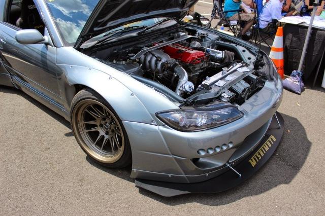 Rocket Bunny S15 Nissan Silvia looking aggressive