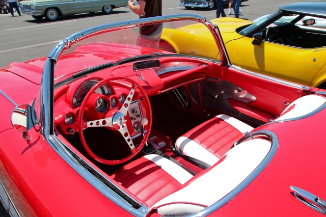 Clean 1960 Chevy Corvette Interior